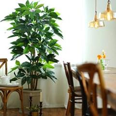 세련된 실내 대형 인조나무 대엽홍콩