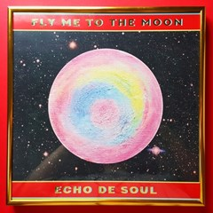 [에코드소울] Fly Me To The Moon Retro Poster (Limited Edition)