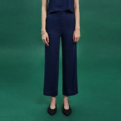 [딘스] SLIM FIT WIDE PANTS_NAVY