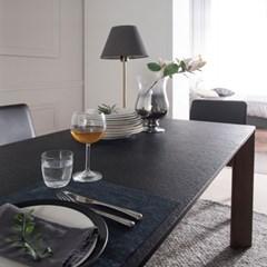 [잉글랜더]볼케이노 화산석 4인용 식탁(벤치1+의자2)