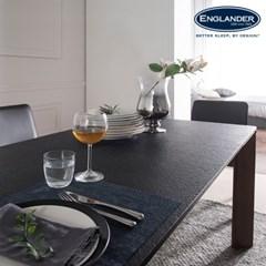 [잉글랜더]볼케이노 화산석 6인용 식탁(벤치1+의자3)