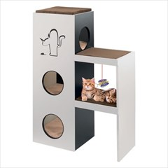 [FERPLAST] Napoleon 고양이집 반려묘 가구 수입_(552565)