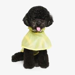 강아지 우비 비옷 - 노랑