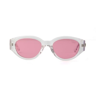 D.fox Original Glossy Clear / Pink Tint Lens