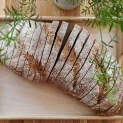 [더브레드] 100%통밀빵_장발장(No충전물 플레인)1kg(운동건강빵)