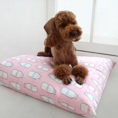 강아지쿨방석 인견방석- (뉴)핑크밀크