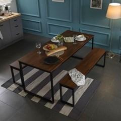 [잉글랜더]대니 멀바우 1800 카페 테이블 식탁(벤치의자2)