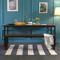 [잉글랜더]대니 멀바우 1800 카페 테이블 식탁(벤치의자1)