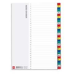 바인더인덱스(PP/31분류/OfficeDEPOT)_(13313395)