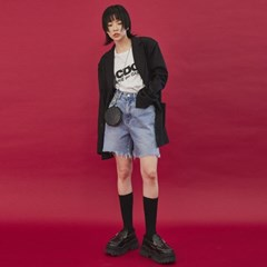 raw-cut edges jacket (2 color) - UNISEX_(978680)