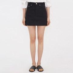 clean cotton mini skirt (s, m, l)_(978589)