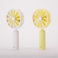 프리즘 충전식 페닉 레몬 휴대용 선풍기