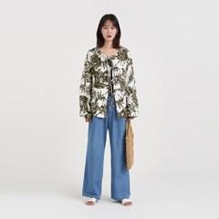 leaf strap cardigan (2colors)