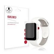 스코코 애플워치3 LTE 38mm 풀커버 리얼핏 액정보호필름_(617583)