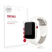 스코코 애플워치3 LTE 42mm 강화유리 액정보호필름 1매_(617580)