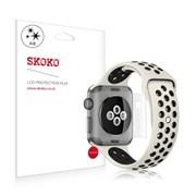 스코코 애플워치3 LTE 42mm 유광 전신 외부보호필름 2매_(617578)