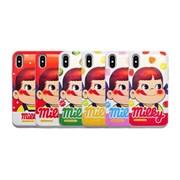 [갤럭시전용]밀키페코 카드수납 슬라이드 범퍼케이스
