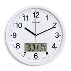 무소음카렌다벽시계350_화이트