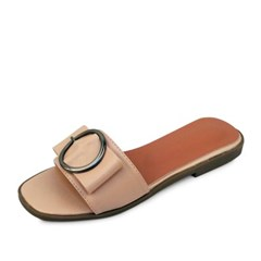 kami et muse Over ring beltd flat slippers_KM18s295