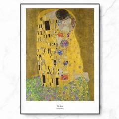 클림트 인테리어 그림 액자 포스터 키스_(1367728)