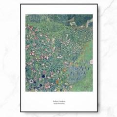 클림트 인테리어 그림 액자 포스터 이탈리안 정원_(1367727)