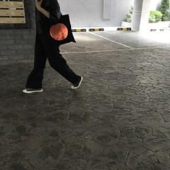 레인보우 에코 / 블랙 버전 / 패션 오렌지