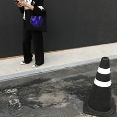 레인보우 에코 / 블랙 버전 / 볼드 바이올렛