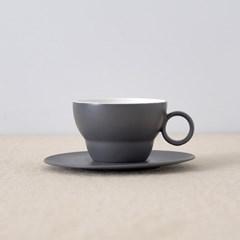 [보울보울] 볼볼오리진 커피잔 1인조 세트(차콜그레이)_(1235297)