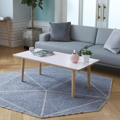 스웨디시 에쉬 원목 소파테이블 1200