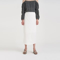 glory linen skirt (2colors)