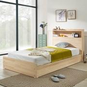 헤이디 LED 소나무원목 평상형 슈퍼싱글 침대 (매트별도_(11335371)