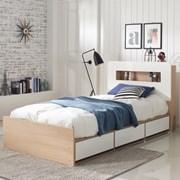 로아 LED 수납형 슈퍼싱글 침대 (매트별도)_(11335368)