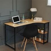 L형 조립식 철제 코너 컴퓨터 사무용 책상 세트
