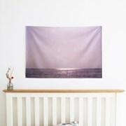 Violet Sea 패브릭 포스터 / 바다 포스터