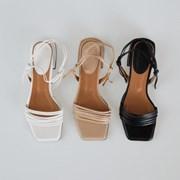 feminine mood strap sandal