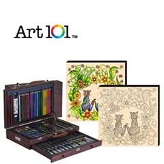 ART101-119W / 우드캔버스 11인치 러브캣(사인펜 8색) 증정