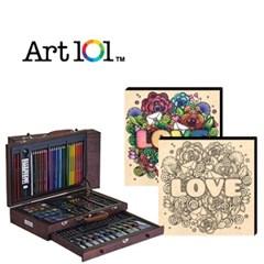 ART101-119W / 우드캔버스 11인치 러브레터(사인펜 8색) 증정