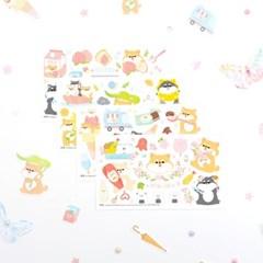 마넷 스티커 - 마넷 컷팅스티커 (시바지-2018)
