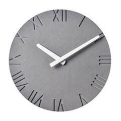 저소음 COLOR BOARD 컬러보드벽시계(로만그레이)