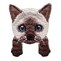 [하이데나이!] Kitten brown 벨크로 패치
