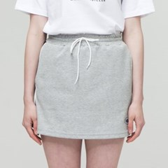 [더완더]PIPING MINI SKIRT GREY_(2032783)