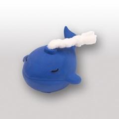도기맨 라텍스 면로프 토이 고래 (블루)