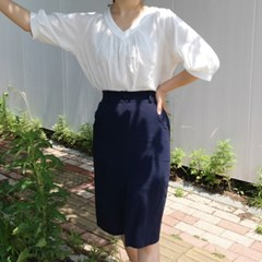 Basic banding skirt(린넨30%)