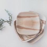 나무리프 낙엽으로 만든 친환경 일회용 접시 6P (M)