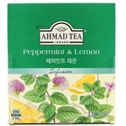 [아마드] 페퍼민트&레몬 허브차 (100티백)