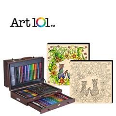 ART101-100W / 우드캔버스 11인치 러브캣(사인펜 8색) 증정