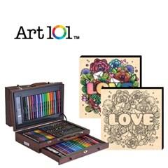 ART101-100W / 우드캔버스 11인치 러브레터(사인펜 8색) 증정