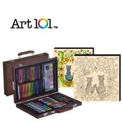 ART101-82W / 우드캔버스 11인치 러브캣(사인펜 8색) 증정