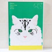 고양이디자인 포스터액자_시베리안