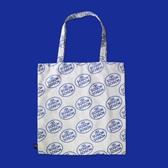 Logo blue bag